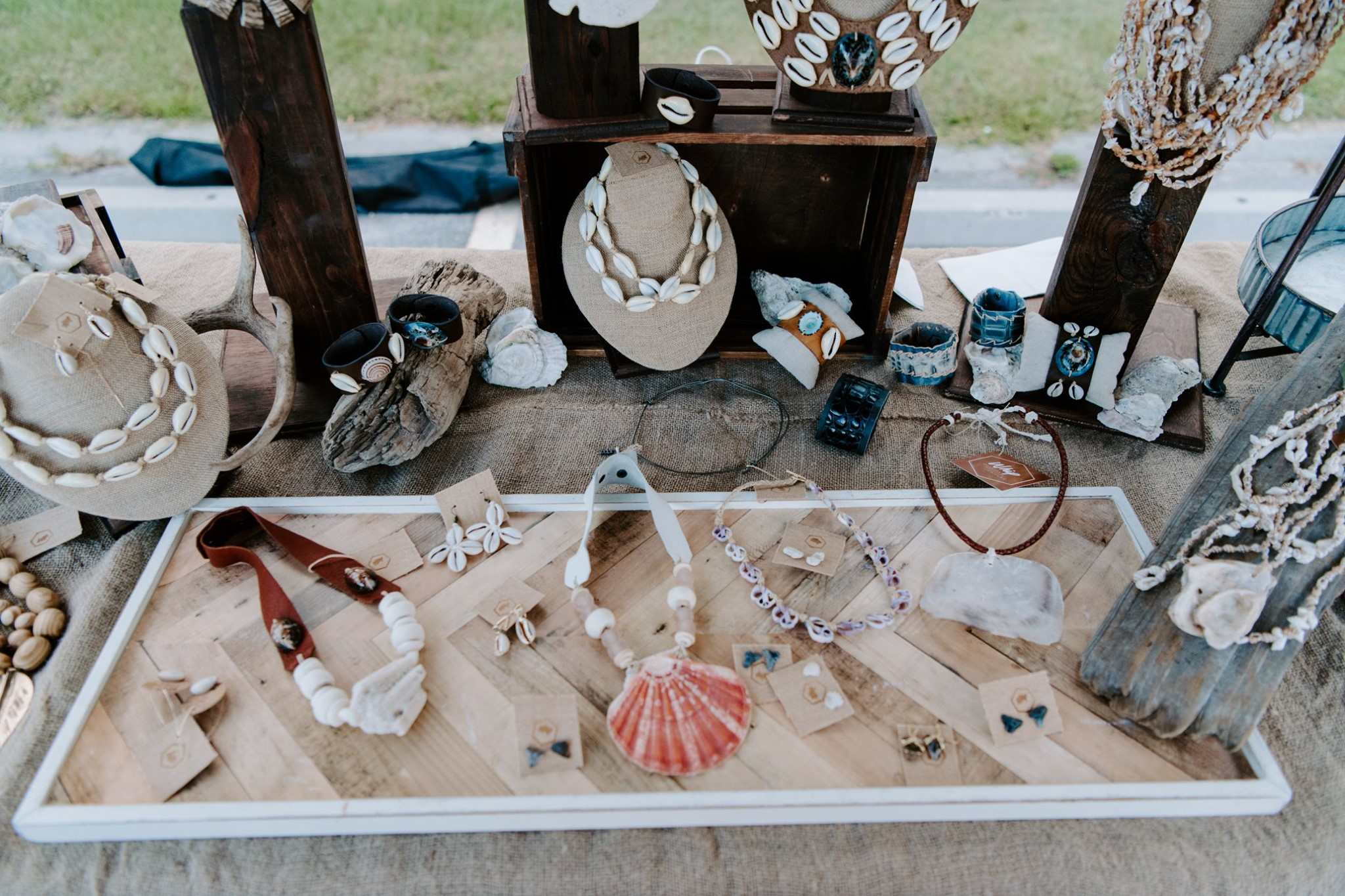 Markets & Events Whip Savannah jewelry